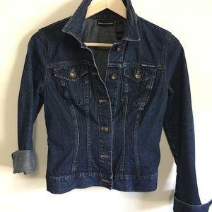 DKNY JEANS Denim Jacket Dark Wash